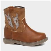 Sprox Cowboy Girls Tan Ankle Boot (Click For Details)