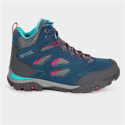 Holcombe Kids Blue Waterproof Hiking Boot