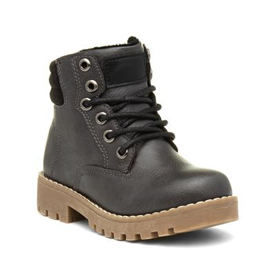 Kids Corey Grey Lace Up Ankle Boot