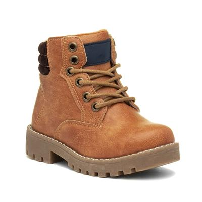 Corey Kids Tan Lace Up Ankle Boot