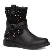Walkright Girls Black Diamante Calf Boot (Click For Details)