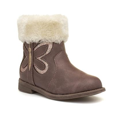 Girls Brown Ankle Boot
