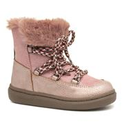 Sprox Girls Pink Faux Fur Ankle Boot (Click For Details)