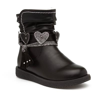 Girls Black Ankle Boot