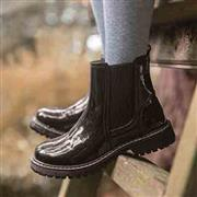 Lilley Girls Black Patent Chelsea Boot (Click For Details)