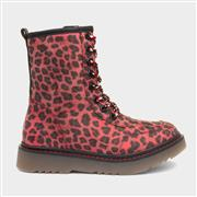 Heavenly Feet Elsa Red Leopard Print Boot (Click For Details)