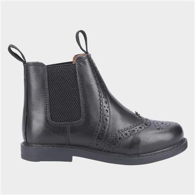 Kids Nympsfield Boot in Black