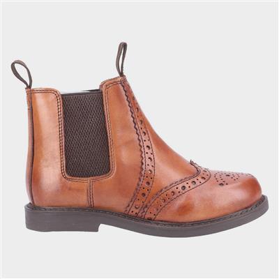 Kids Nympsfield Boot in Tan