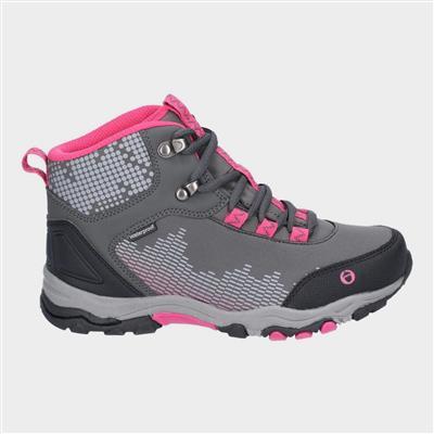 Ducklington Junior Grey Hiking Boots