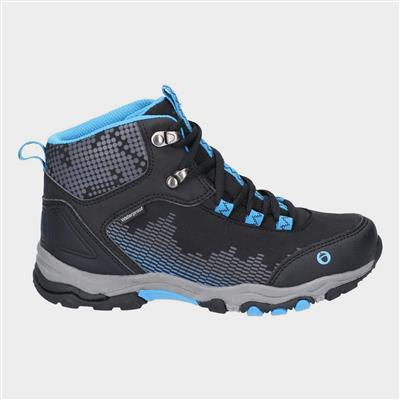 Ducklington Junior Black Hiking Boots