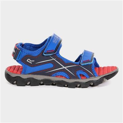 Kota Drift Jnr Boys Blue Sports Sandal