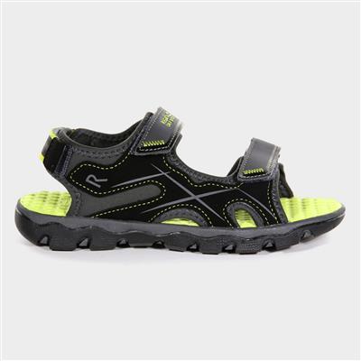 Kota Drift Jnr Boys Brown Sports Sandal