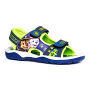 Paw Patrol Boys Blue & Green Easy Fasten Sandal (Click For Details)