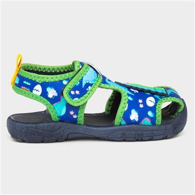 Kids Dinosaur Aqua Sandal