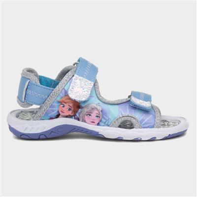 Kids Easy Fasten Sandal in Blue