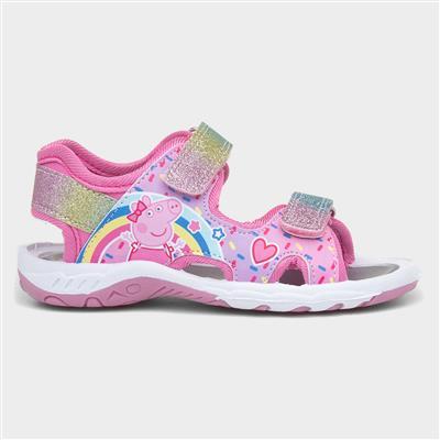 Girls Touch Fasten Sports Sandal