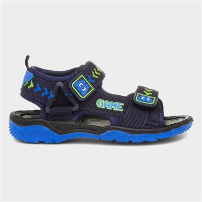 Gamer Blue Kids Sport Sandal