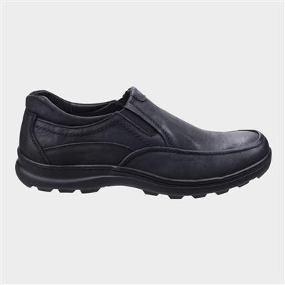 Mens Goa Slip On Shoe in Black