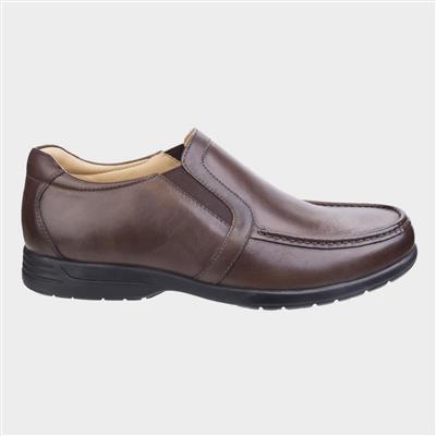 Mens Gordon Brown Leather Shoe