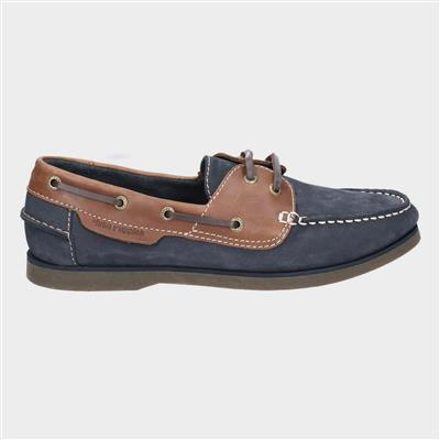 Henry Classic Lace Up Shoe in Blue
