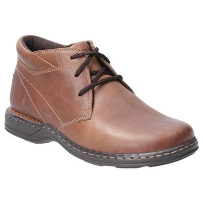 Reggie Lace Up Shoe in Brown