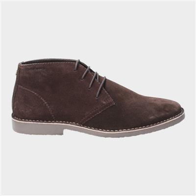 Freddie Lace Up Shoe in Brown