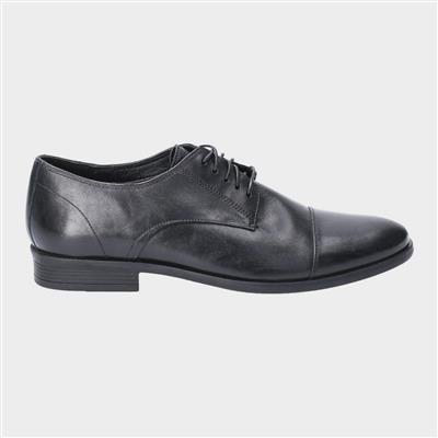 Ollie Cap Toe Lace Up Shoe in Black