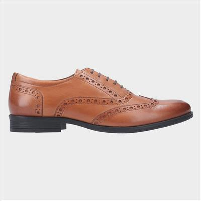 Oaken Brogue Lace Up Shoe in Brown