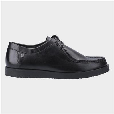 Will Wallabee Lace Up Shoe in Black