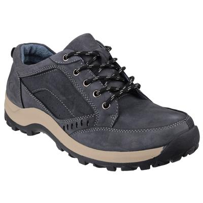 Nailsworth Mens Navy Leather Shoe
