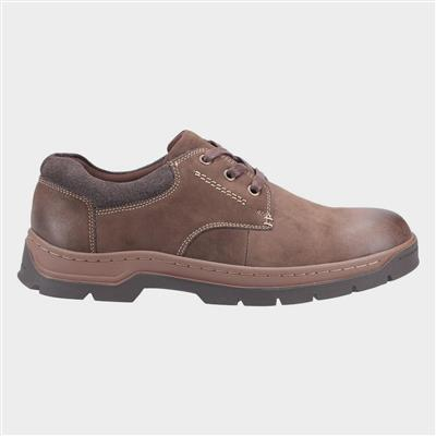 Thickwood Mens Brown Leather Shoes