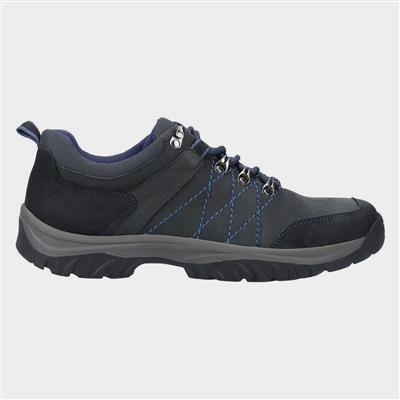 Cotswolds Toddington Navy Leather Lace Up Shoe