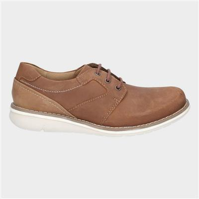 Mens Chase Casual Lace Up Shoe in Tan