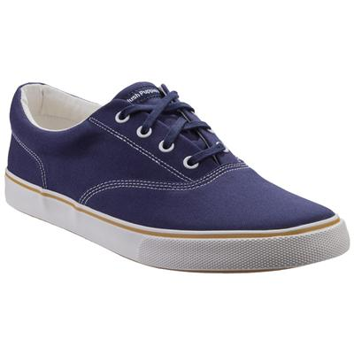 Mens Chandler Lace Up Trainer in Blue