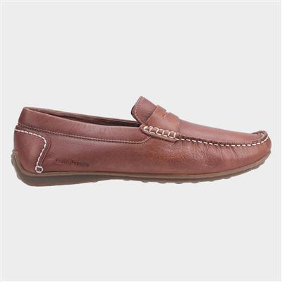 Mens Roscoe Slip On Shoe in Brown
