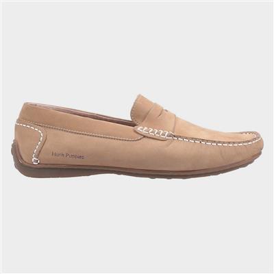 Mens Roscoe Slip On Shoe in Cream