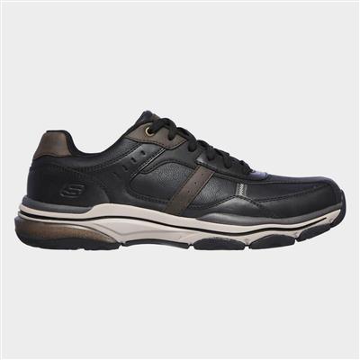 Mens Romago Elmen Lace Up Black Shoe