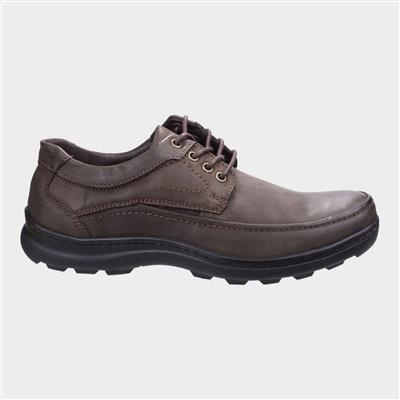 Mens Luxor Lace Up Shoe in Brown