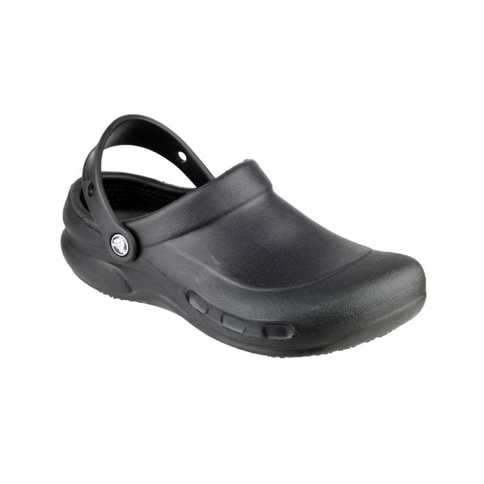 Crocs Mens Bistro Work Clog in Black