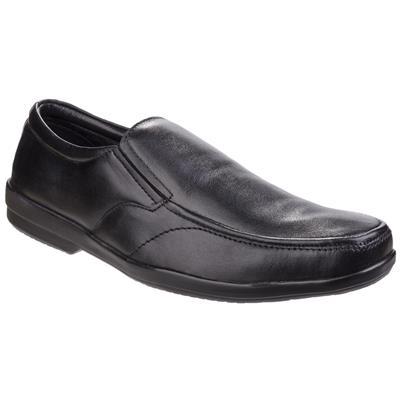 Mens Alan Formal Black Leather Shoe