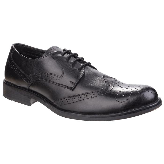 1940s UK and Europe Men's Clothing – WW2, Swing Dance, Goodwin Fleet And Foster Mens Tom Lace Shoe in Black £34.99 AT vintagedancer.com