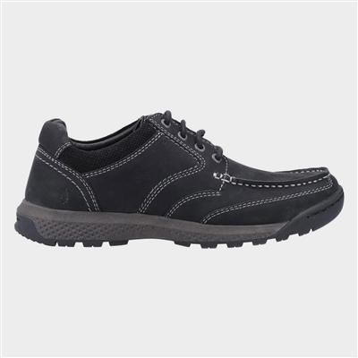 Mens Dominic Lace Shoe in Black