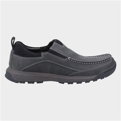 Mens Duncan Slip On Shoe in Black