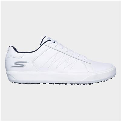 Mens Go Golf Drive 4 Sports Shoe in White