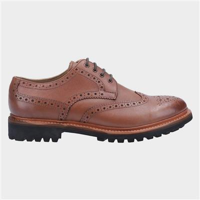 Quenington Commando Mens Brown Shoe