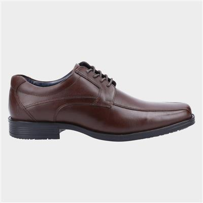 Brandon Mens Leather Lace Up Shoe