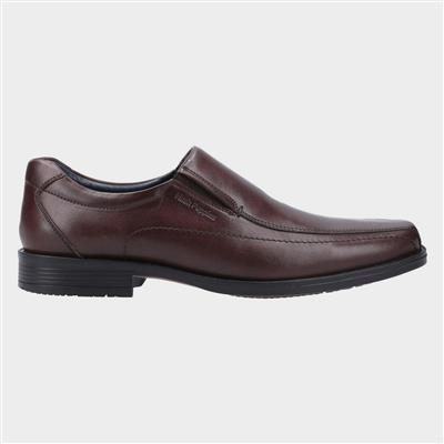 Brody Mens Leather Shoe in Brown
