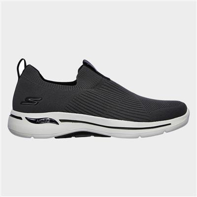 Mens Go Walk Arch Fit Iconic in Grey