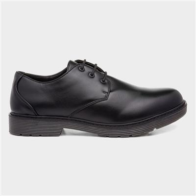 Mens Black Formal Lace Up Shoe