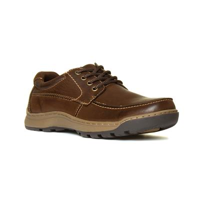 Tucker Mens Brown Leather Shoe